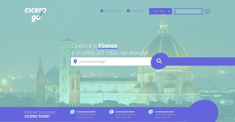 web-app  per turismo