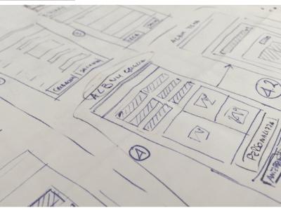 Design mockup per app iOS e Android