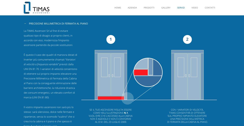 realizzazione siti web aziendali in wordpress