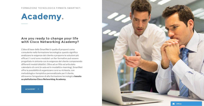 realizzazione siti web aziendali professionali