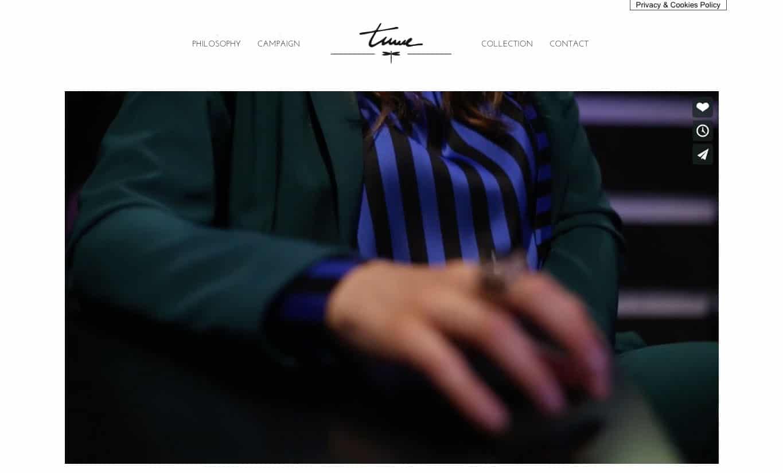 realizzazione sito web per fashion house