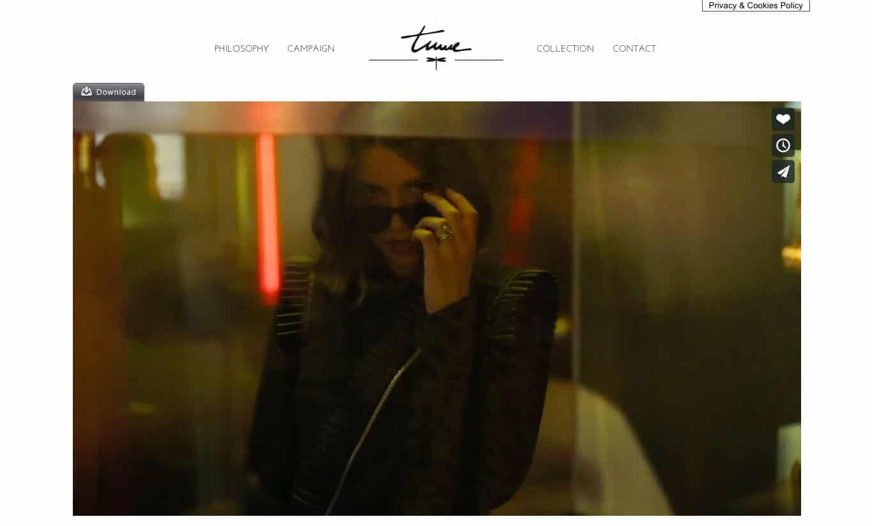 sito web per fashion